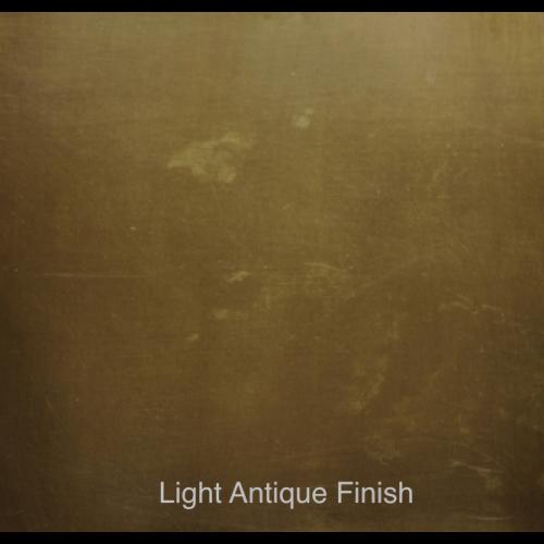 Light Antique Finish