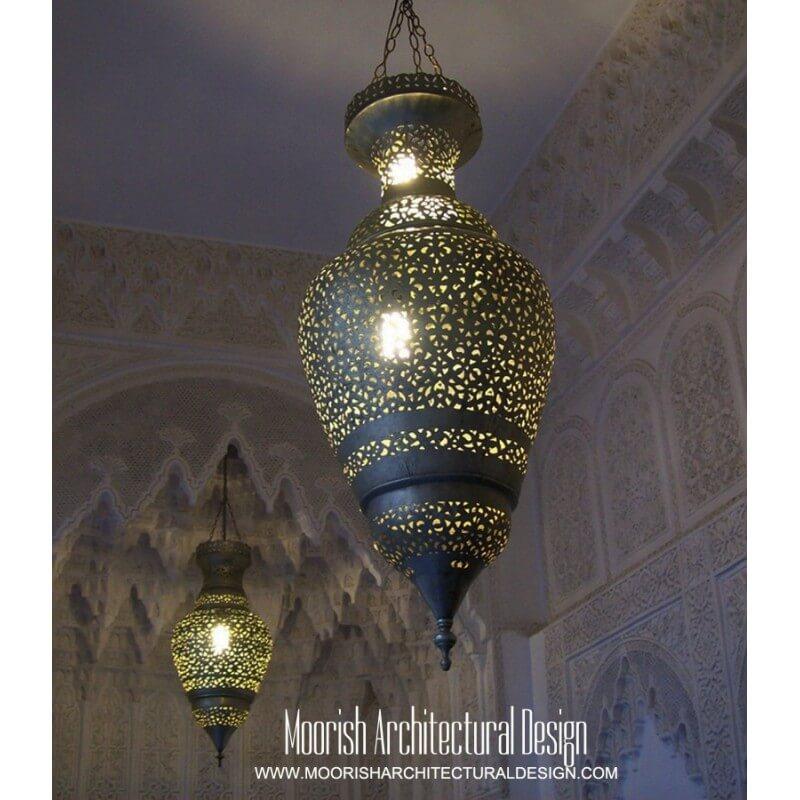 Moroccan Bedroom Lighting