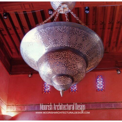 Modern Moroccan Pendant 38