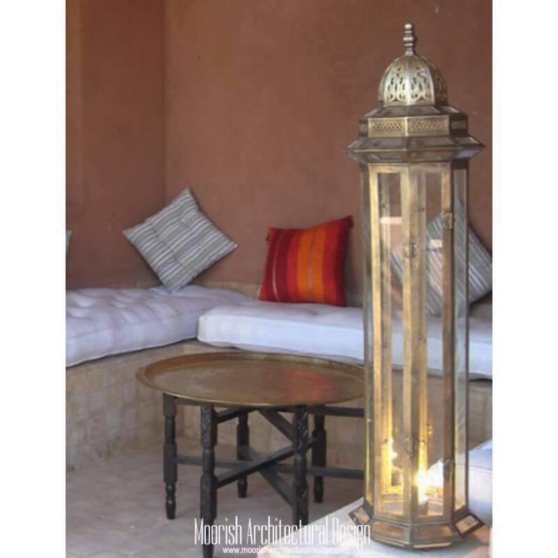 Moorish outdoor lighting