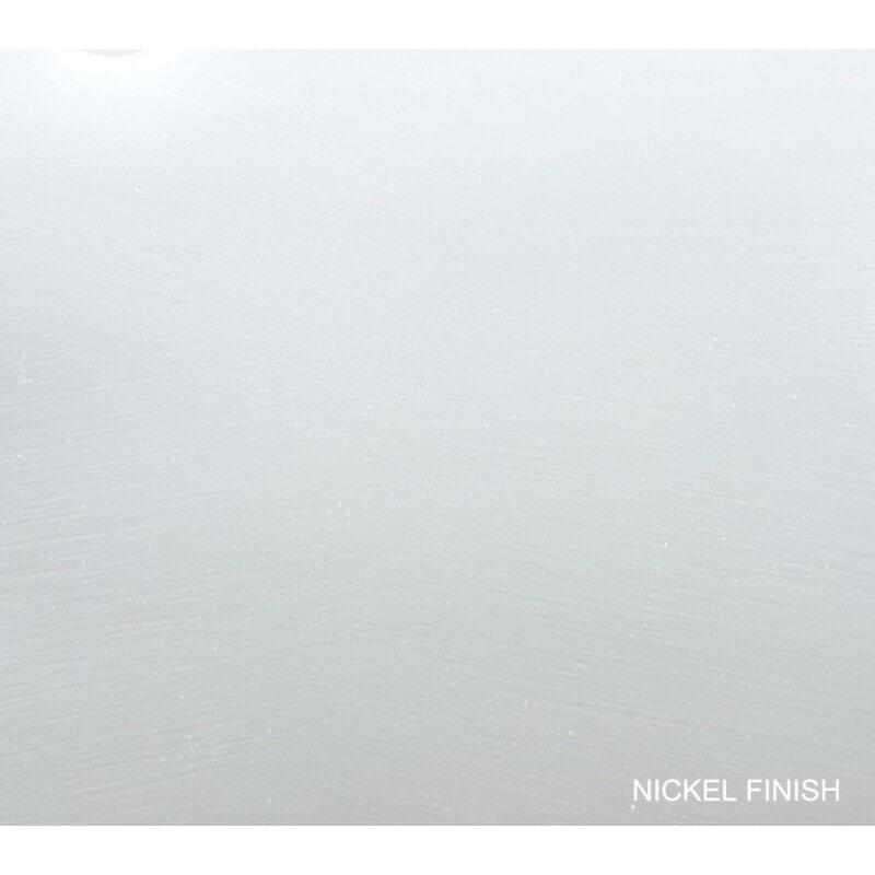 Flat Nickel Finish