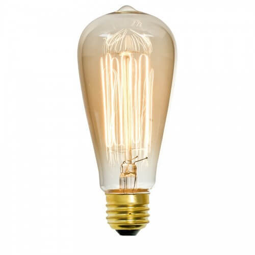 Clear Incandescent Light Bulb