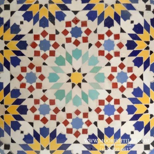 Moresque Tile 01
