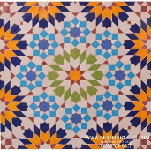 Moresque Tile 02