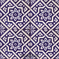 Spanish Kitchen Tile Blue