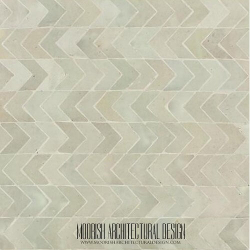 White Moroccan Tile 10