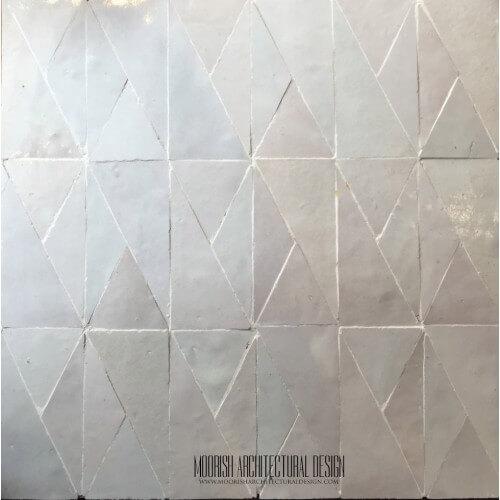 White Moroccan Tile 11
