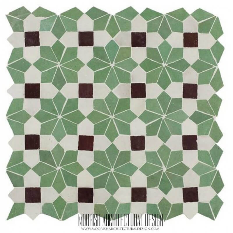 Moorish Bathroom Tiles Home Interior Design