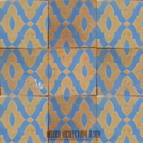 Rustic Moorish Tile 23