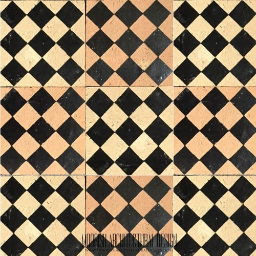 Rustic Moorish Tile 24