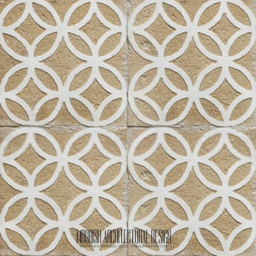 Rustic Moorish Tile 27