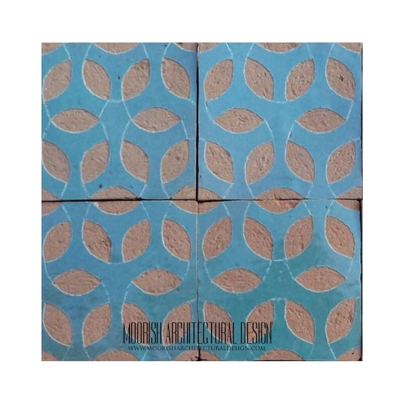 Tile Ideas for Moroccan Fireplace