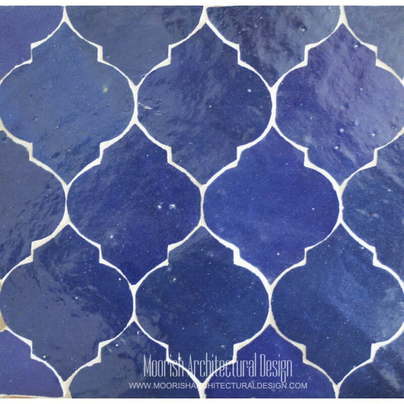 Arabesque Tile bathroom