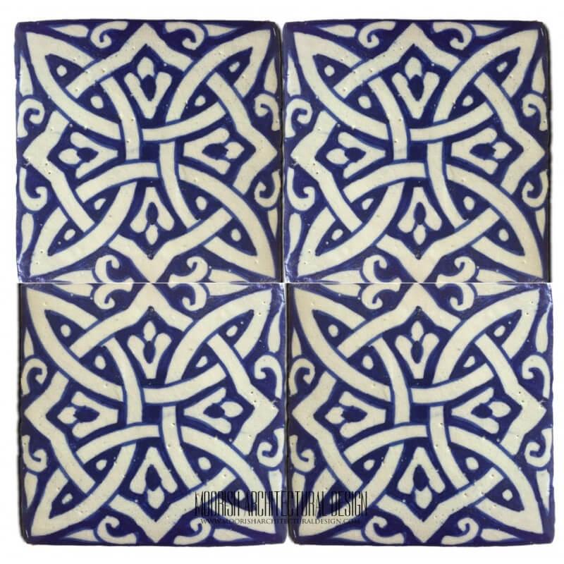 Moroccan Pool Tile Blue
