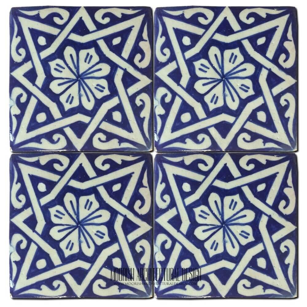 Moorish pool tile design ideas moroccan tile for Fez tiles