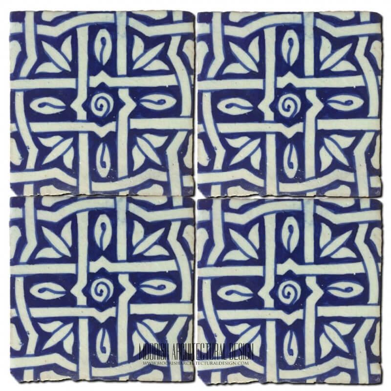 Moroccan pool design tile ideas