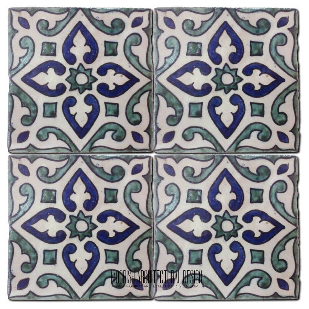Hand Painted Spanish Tiles