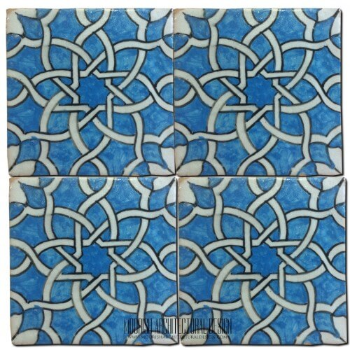 Moroccan Hand Painted Tile 27