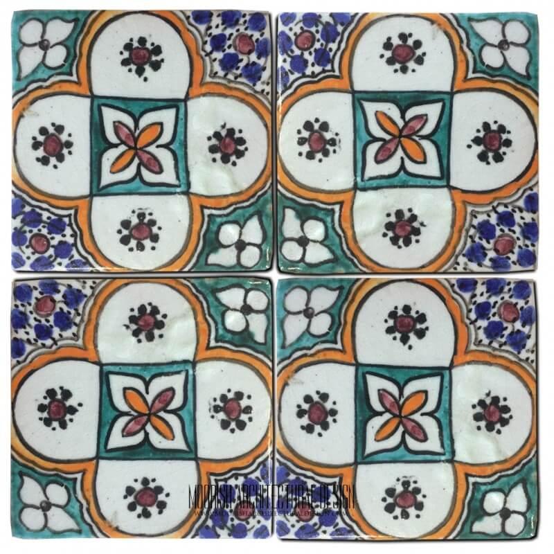 Portuguese Ceramic decorative tile