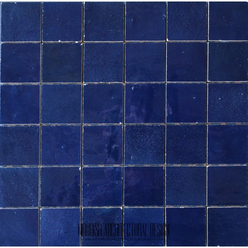 Deep Blue Moroccan Tile