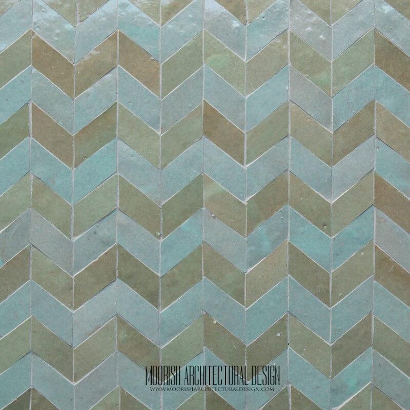 Green Moroccan Tile San Diego