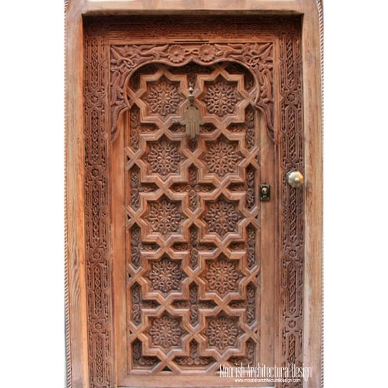 Moorish front Door