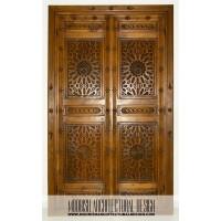 rustic exterior door