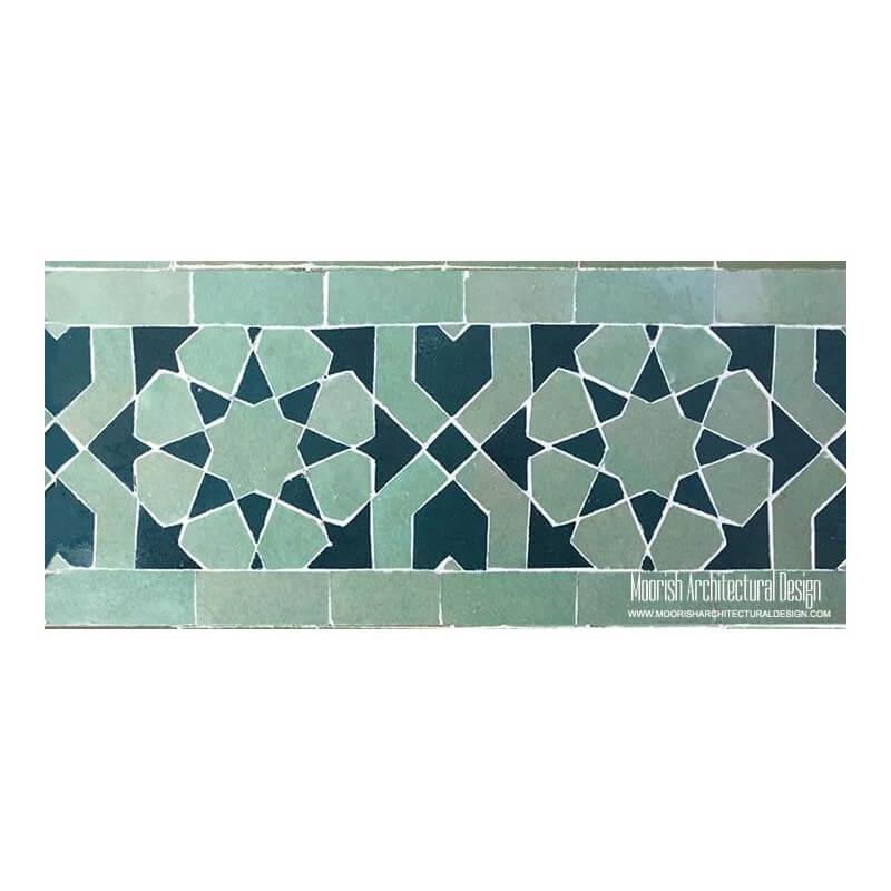 Spanish Mosaic Swimming Pool Tile