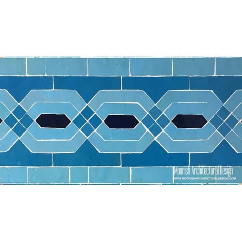 Moroccan Border Tile 109