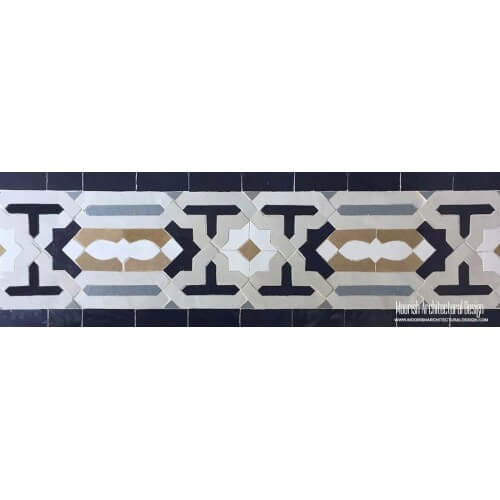 Moroccan Border Tile 112