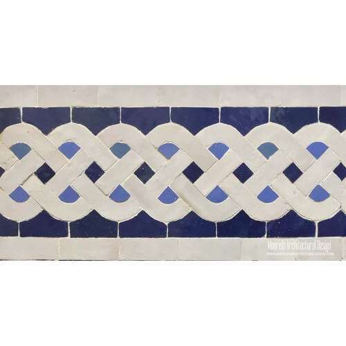 Moroccan Border Tile 113