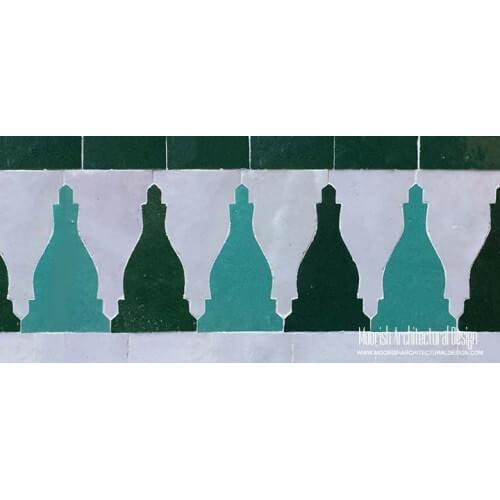 Moroccan Border Tile 123