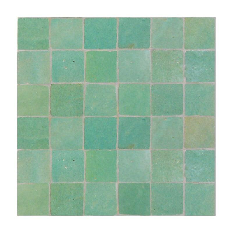Green Moroccan Tiles Green Zellige 3 Quot X 3 Quot Tiles