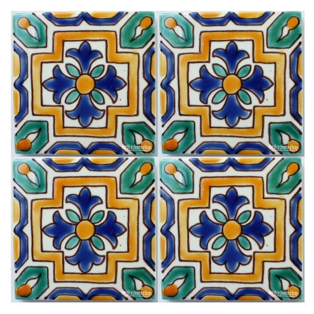 Green and blue mediterranean tiles spanish colonial tile design green mediterranean ceramic tile green mediterranean ceramic tile doublecrazyfo Choice Image