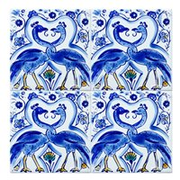 Blue Mediterranean Ceramic Tile