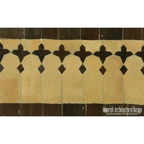 Moroccan Pool Tiles Santa Barbara California