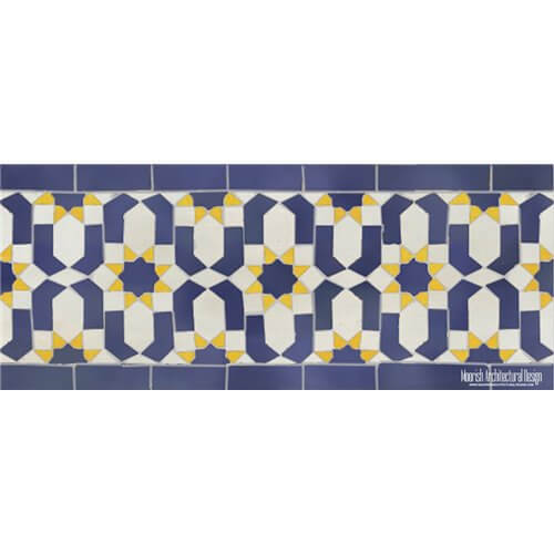 Moroccan Border Tile 05