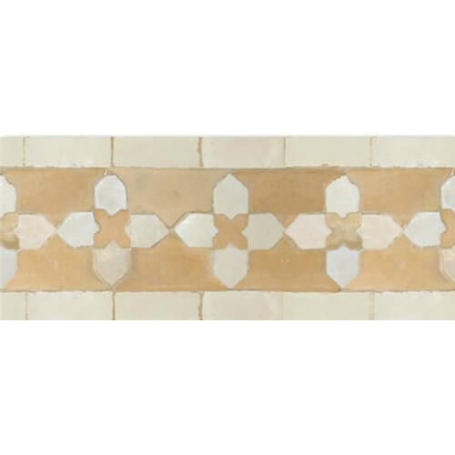 Moroccan Pool Tile Border