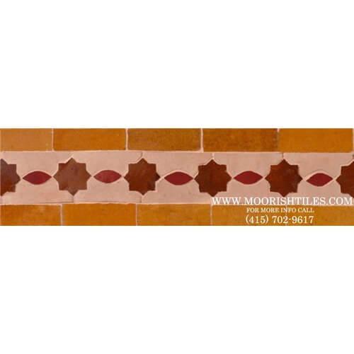 Moroccan Border Tile 57