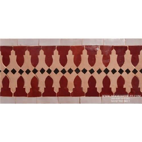 Moroccan Border Tile 61