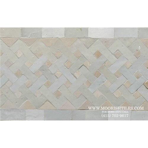 Moroccan Border Tile 64