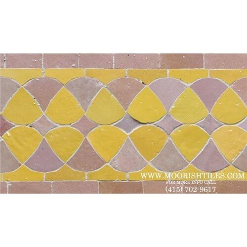 Moroccan Border Tile 66