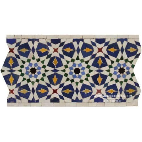 Los Angeles largest supplier of Spanish Mediterranean pool tiles