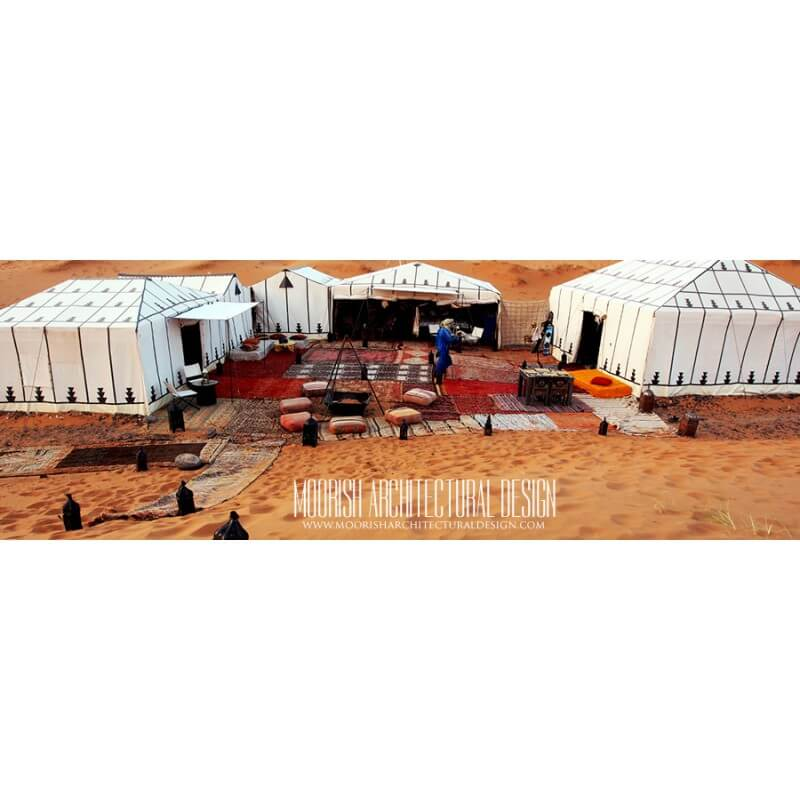 Middle eastern wedding tent