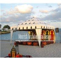 Moroccan backyard tent