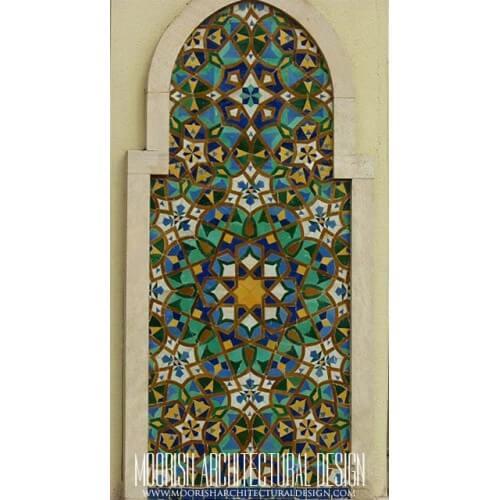 Moroccan Tile Mural 16