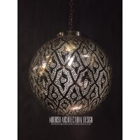 Bathroom Decorating with Moroccan Pendant Light