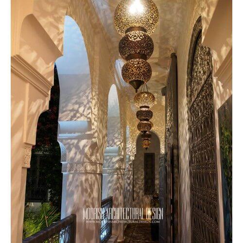 Modern Moroccan Pendant 65