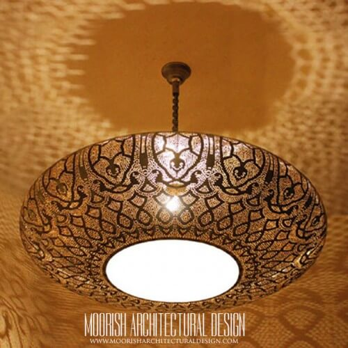 Modern Moroccan Pendant 72