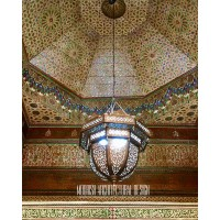 Large Moroccan style pendant light